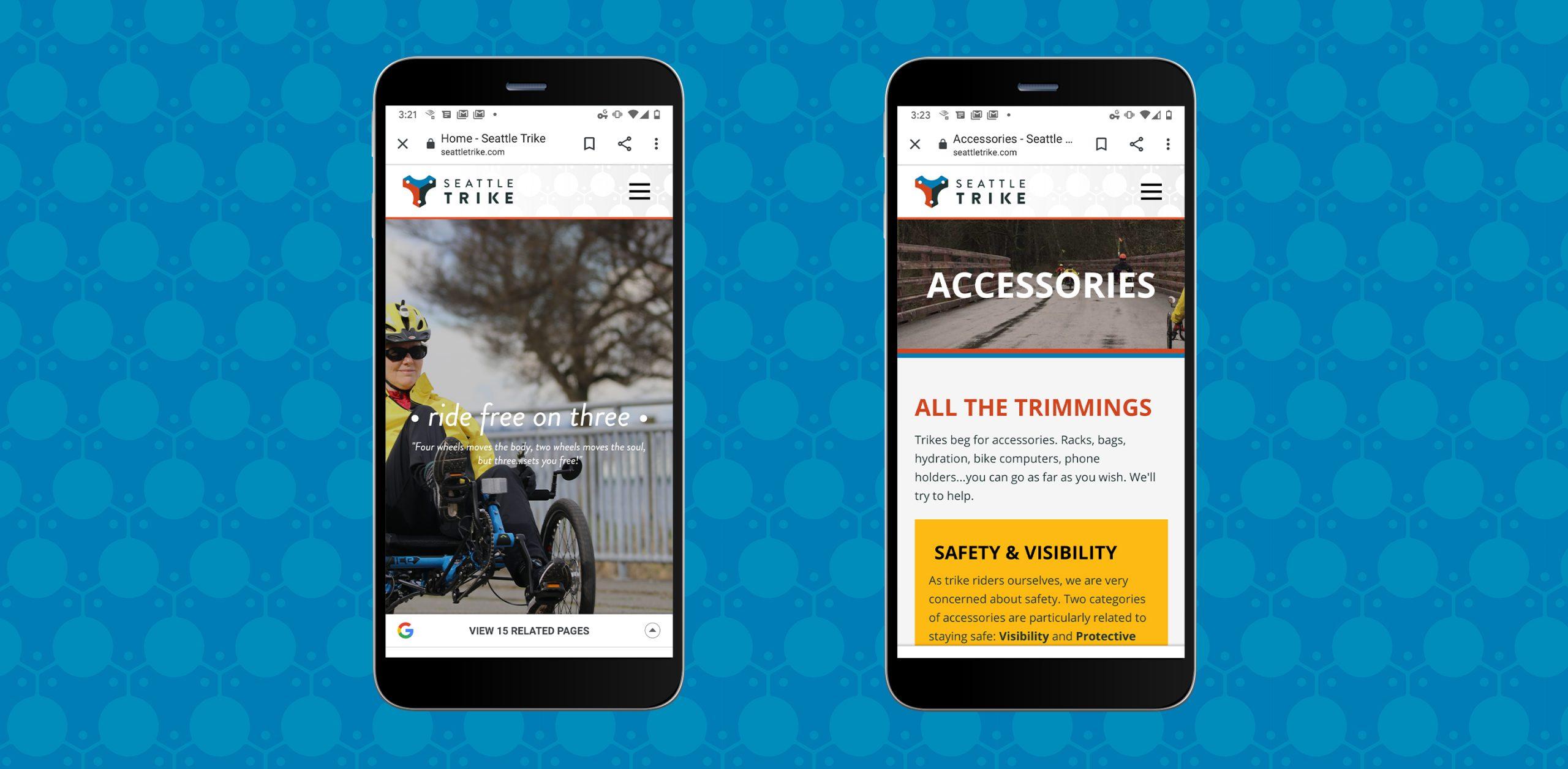 Seattle Trike Mobile web