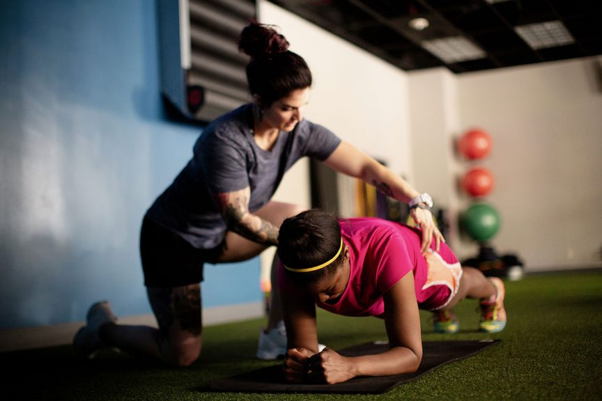 Shea Leonard Own Fitness photograph