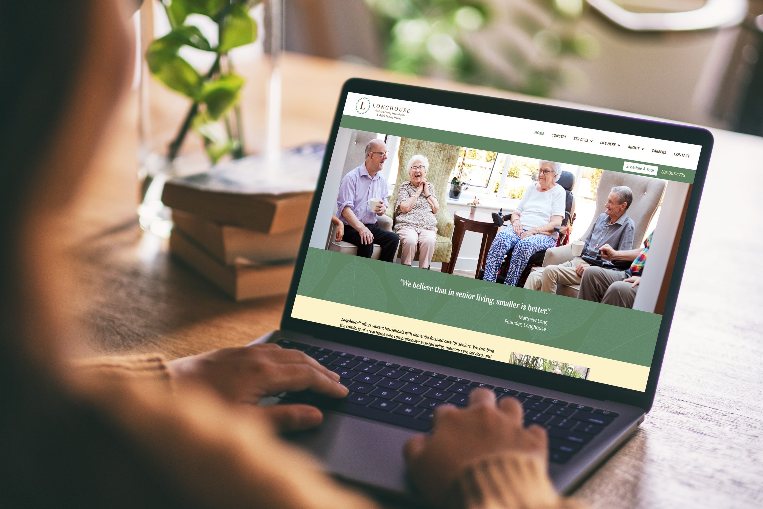 Longhouse website