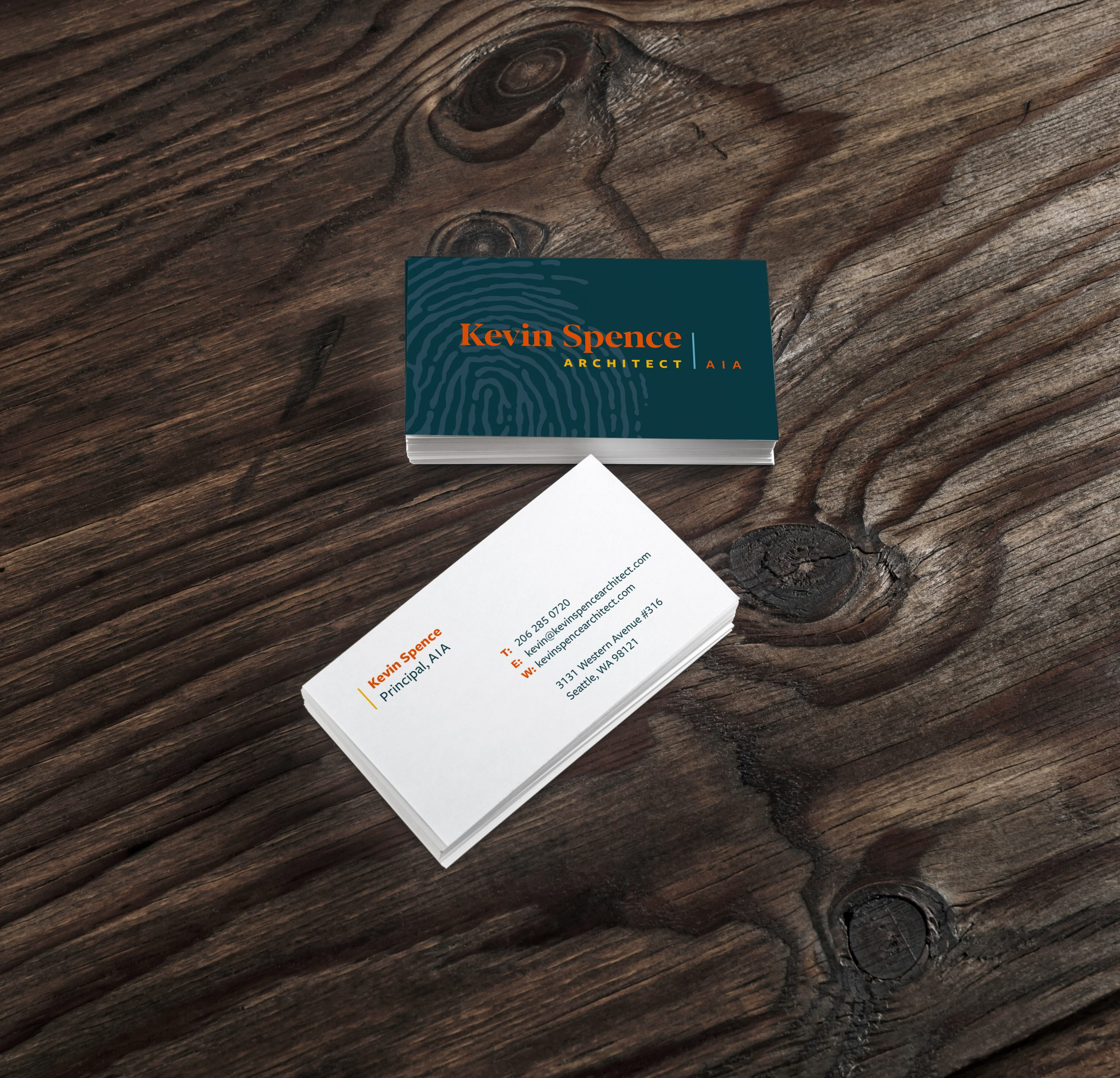 Kevin Spence Business Cards